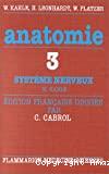 Système nerveux et organes des sens