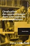 Evaluation des apprentissages dans une approche par compétence